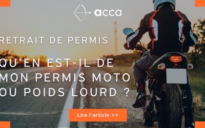 Retrait de permis : qu'en est-il de mon permis moto ou poids lourd ?