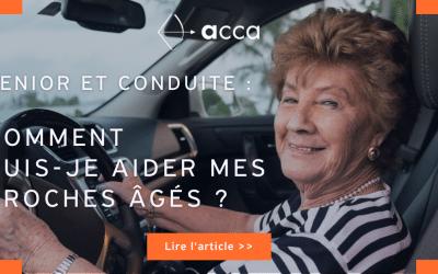 Senior au volant : comment puis-je aider mes proches âgés ?